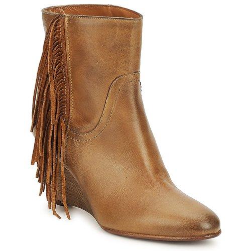 Tiempo limitado especial JFK ALEX HI Camel - Envío gratis Nueva promoción - Zapatos Botines Mujer  Camel