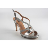 Zapatos Mujer Sandalias Bienve 1JB-19147 plata