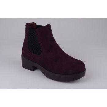 Zapatos Niña Botines Xti Botín niña  56615 burdeos Rouge