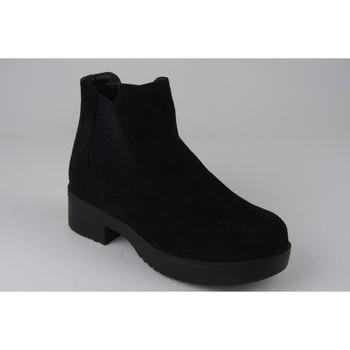 Zapatos Niña Botines Xti Botín niña  56615 negro Noir