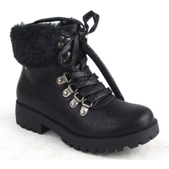 Zapatos Niña Botas de nieve Katini 16727 KLM negro