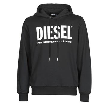 textil Hombre sudaderas Diesel GIR-HOOD-DIVISION Negro