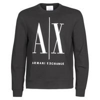 textil Hombre sudaderas Armani Exchange HELIX Negro