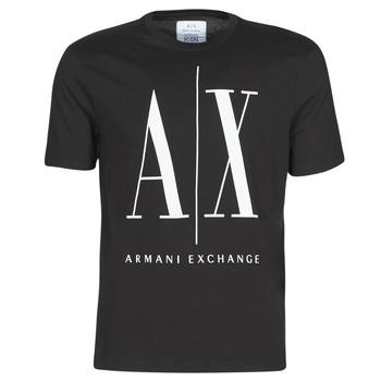 textil Hombre Camisetas manga corta Armani Exchange HULO Negro