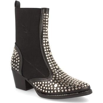 Zapatos Mujer Botines Ainy 8468 Negro