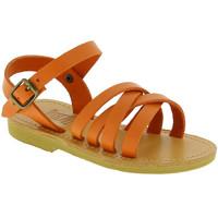 Zapatos Niña Sandalias Attica Sandals HEBE CALF ORANGE arancio