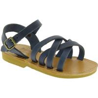 Zapatos Hombre Sandalias Attica Sandals HEBE NUBUK BLUE blu