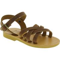 Zapatos Niña Sandalias Attica Sandals HEBE NUBUK DK BROWN Marrone medio