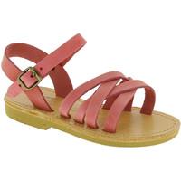 Zapatos Niña Sandalias Attica Sandals HEBE NUBUK PINK Rosa chiaro