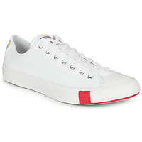 Zapatos Zapatillas bajas Converse CHUCK TAYLOR ALL STAR LOGO STACKED - OX Blanco