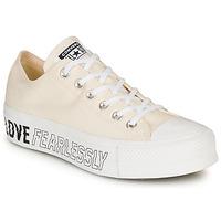 Zapatos Mujer Zapatillas bajas Converse CHUCK TAYLOR ALL STAR LIFT - OX Beige