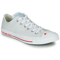 Zapatos Mujer Zapatillas bajas Converse CHUCK TAYLOR ALL STAR LOVE CANVAS - OX Blanco / Rojo