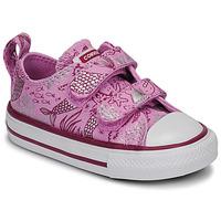 Zapatos Niña Zapatillas bajas Converse CHUCK TAYLOR ALL STAR 2V UNDERWATER PARTY Rosa