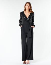 textil Mujer Monos / Petos Lauren Ralph Lauren  Negro
