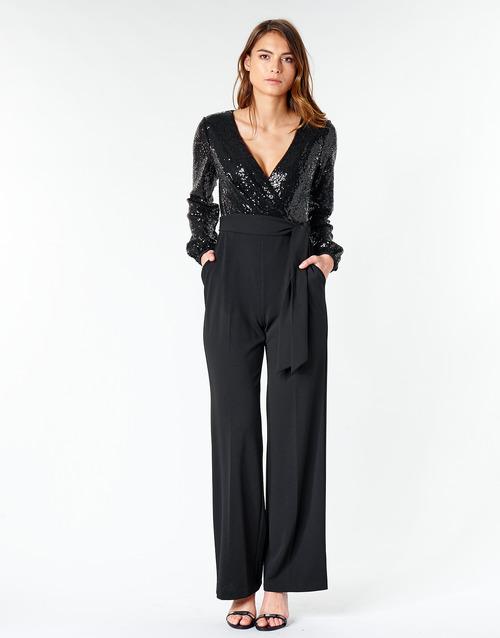 textil Mujer Monos / Petos Lauren Ralph Lauren Alexis Negro
