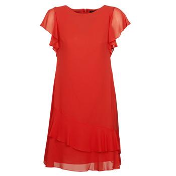 textil Mujer vestidos cortos Lauren Ralph Lauren Arolde Rojo
