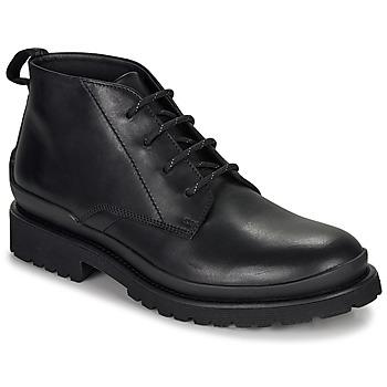 Zapatos Hombre Botas de caña baja HUGO SCOUT DESB IT Negro