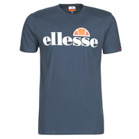 textil Hombre Camisetas manga corta Ellesse SL  PRADO Marino