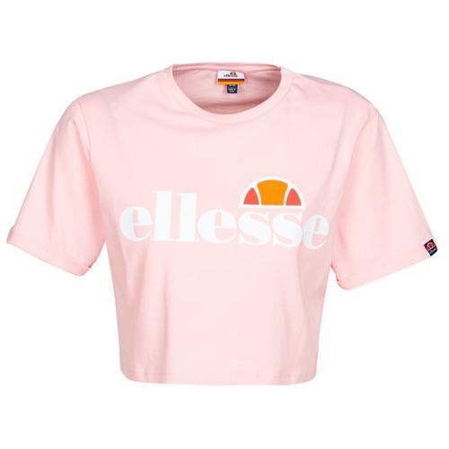 textil Mujer Camisetas manga corta Ellesse ALBERTA Rosa