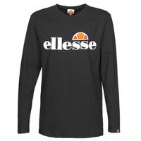 textil Mujer Camisetas manga larga Ellesse GRAZIE Negro