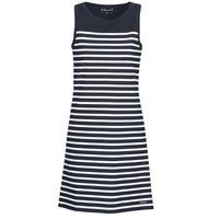 textil Mujer vestidos cortos Armor Lux YITINE Marino / Blanco