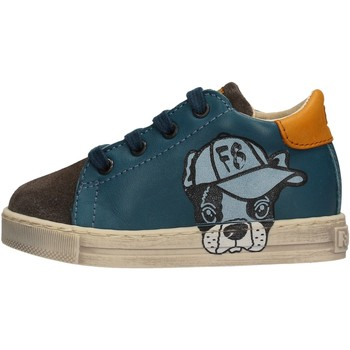 Zapatos Niño Deportivas Moda Falcotto - Sneaker azzurro NINO AZZURRO