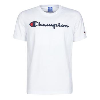 textil Hombre camisetas manga corta Champion 214194 Blanco