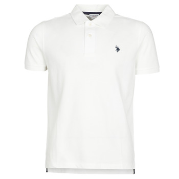 textil Hombre polos manga corta U.S Polo Assn. INSTITUTIONAL POLO Blanco