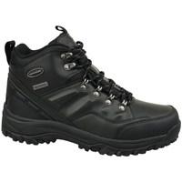 Zapatos Hombre Senderismo Skechers Relment Negros