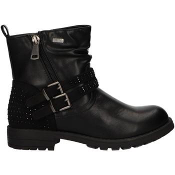 Zapatos Niña Botas de caña baja MTNG 47855 Negro