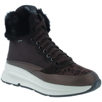 Zapatos Mujer Botines Geox Backsie D94FPA Botines ABX Casual de Mujer marrón