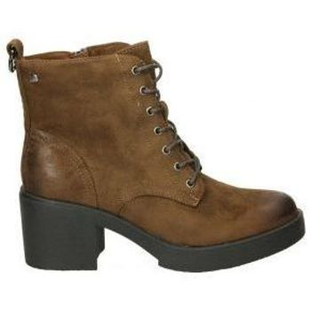 Zapatos Mujer Botines MTNG Botines  50495 moda joven marron Marron