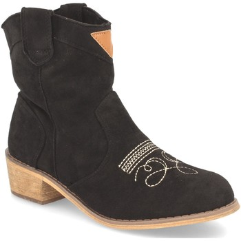 Zapatos Mujer Botines Benini AB62 Negro