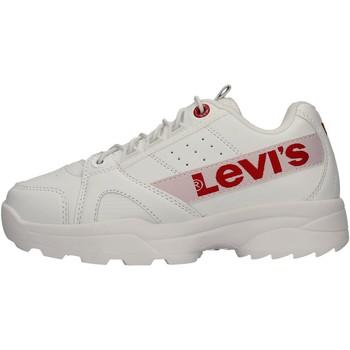 Zapatos Niño Zapatillas bajas Levi's - Soho bianco VSOH0010S-0061 BIANCO