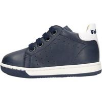 Zapatos Niño Botas de caña baja Falcotto - Polacchino blu ADAM BLU