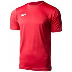 textil Niño camisetas manga corta Sp Fútbol Valor Niño Rojo