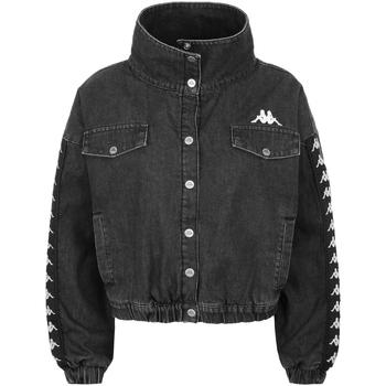 textil Niño chaquetas denim Kappa - Giubbotto grigio 304P340-906 GRIGIO