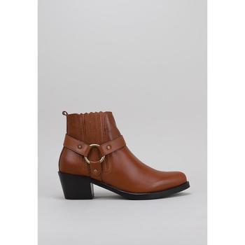 Zapatos Mujer Botines Lol  Marrón