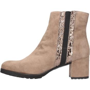 Zapatos Mujer Botines Grunland - Tronchetto taupe PO1459-81 BEIGE