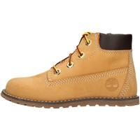 Zapatos Niño Botas de caña baja Timberland - Polacchino giallo 0A125Q GIALLO