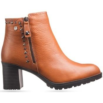 Zapatos Mujer Botines Carmela 66868 Botines Mujer Marrón Marrón
