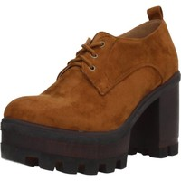 Zapatos Mujer Derbie & Richelieu Different 8135 Marron