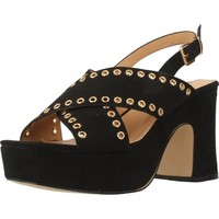 Zapatos Mujer Sandalias Be Different Be Yellow SWAN Negro