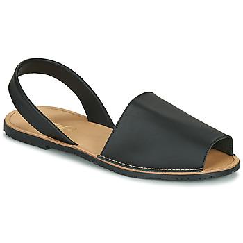 Zapatos Mujer Sandalias So Size LOJA Negro