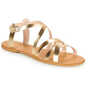 Zapatos Mujer Sandalias So Size IDITRON Oro