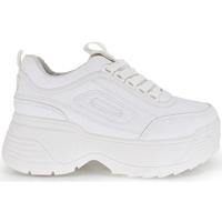 Zapatos Mujer Zapatillas bajas Exé Shoes SNEAKERS PLATAFORMA WHITE 6BF19498 Color Blanco
