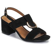 Zapatos Mujer Sandalias Moony Mood MANY Negro