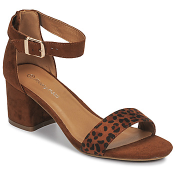 Zapatos Mujer Sandalias Moony Mood MEDIO Leopardo