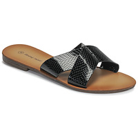 Zapatos Mujer Zuecos (Mules) Moony Mood MADISON Negro