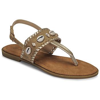 Zapatos Mujer Sandalias Moony Mood MARISE Beige